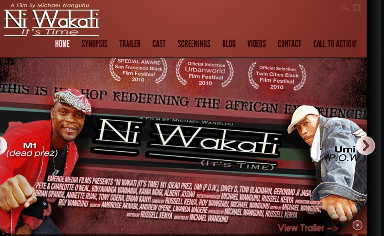 Documentary 'Ni Wakati' Brings American, East African Artists Together