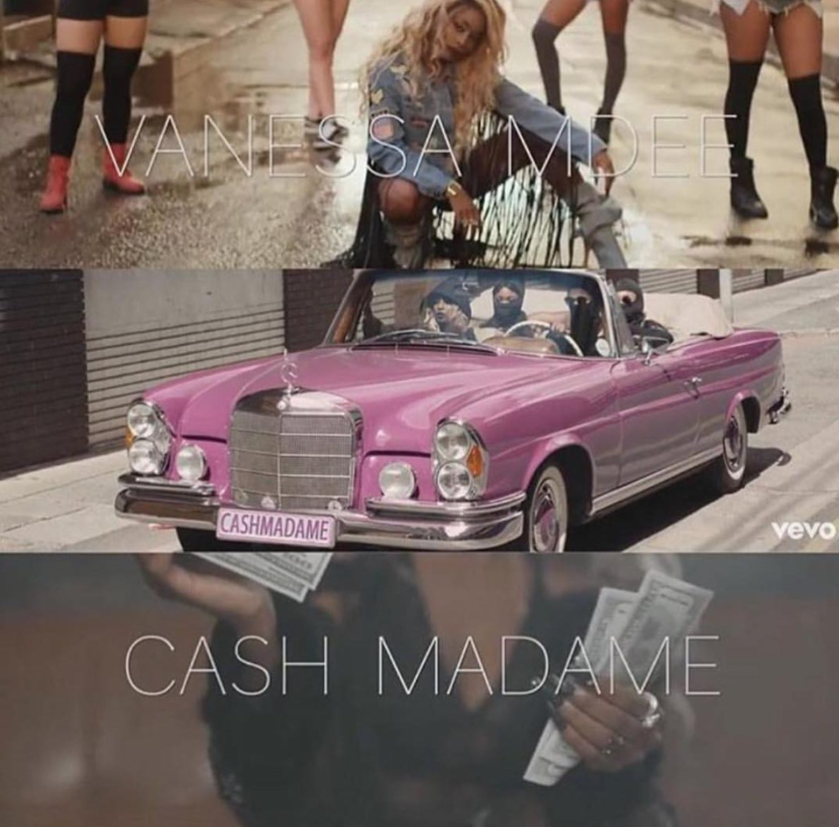 "Vanessa Mdee Subverts Gender Norms Through Color in Her 2016 Hit, ""Cash Madame""."