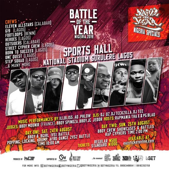 Hip Hop Related Events | The Hip Hop African
